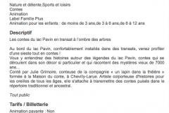 Contes en transat // Lac Pavin Été 2018