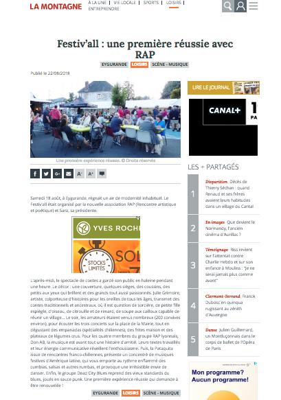 Festiv'all 2018 / Eygurande – 19